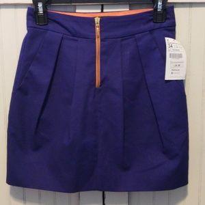NWT ZARA Trafaluc Mini Skirt